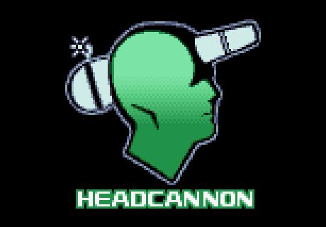 The Headcannon logo, as seen in Sonic Mania.