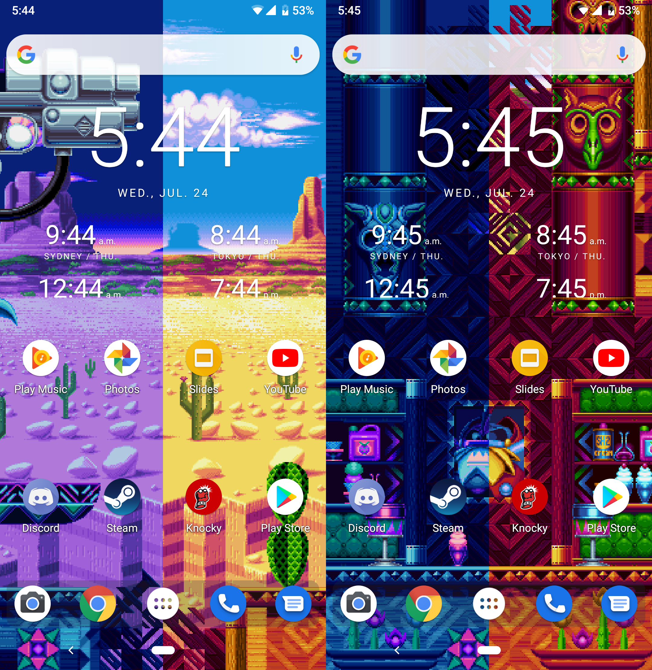 Sonic Mania Project: LWM (Live Wallpaper Maker) For